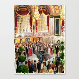 Jeremiah & John Reception Canvas Print