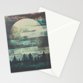 Children of the moon Stationery Cards