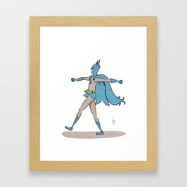 The Darkest Knight Framed Art Print