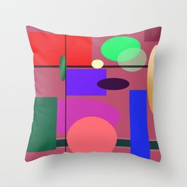 GEO7 Throw Pillow