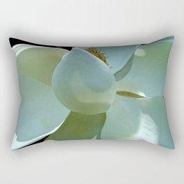 Blue Magnolia II Rectangular Pillow