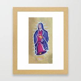 Virgin Taco Framed Art Print