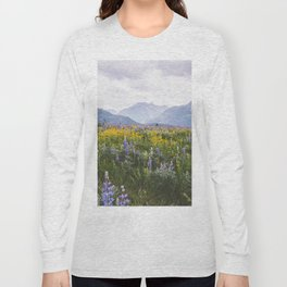 Waterton Wildflowers Long Sleeve T-shirt