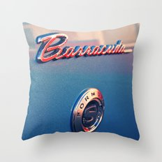 Barracuda Americana Throw Pillow