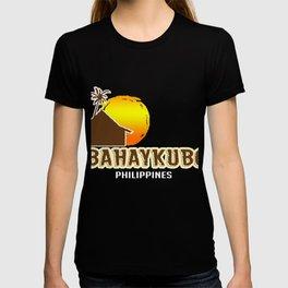 Bahay Kubo Philippines Filipino Tagalog Sun Gift T-shirt