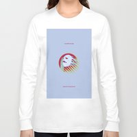 jojo Long Sleeve T-shirts featuring VAMPIRE KILLER - CASTLEVANIA - JOJO by Mirco Greselin