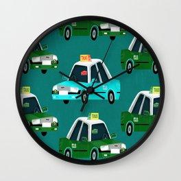 Lantau Taxi Wall Clock