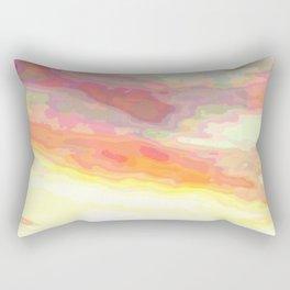 Marbled Sky Rectangular Pillow