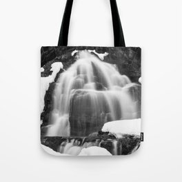 Winter Arch Waterfall Tote Bag