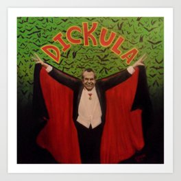 Count Dickula Art Print