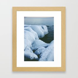 Icy Framed Art Print