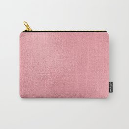 Simply Metallic in Pink Rose Gold Carry-All Pouch