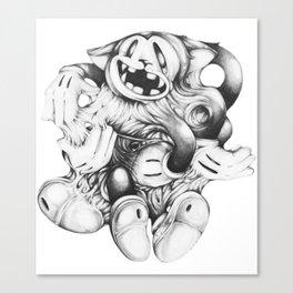 Sticky Canvas Print