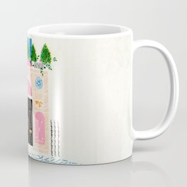 Special Riso Print - Beauty of London Houses Coffee Mug
