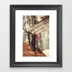 be secret and exult Framed Art Print