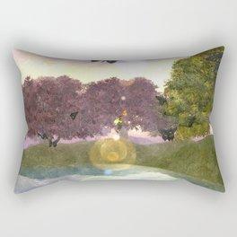 Butterfly lake Rectangular Pillow