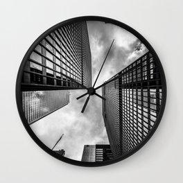 Scraping the Sky Wall Clock