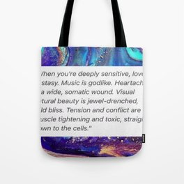 Quote 1 Tote Bag