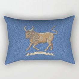 Vintage Astrology - Taurus Rectangular Pillow