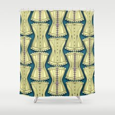 Of Corset Shower Curtain