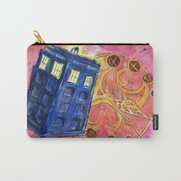 Wibbly Wobbly Timey Wimey  (Dr. Who) Carry-All Pouch