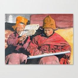 Novices Canvas Print