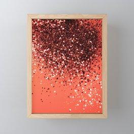 Cali Summer Vibes Lady Glitter #8 #shiny #decor #art #society6 Framed Mini Art Print