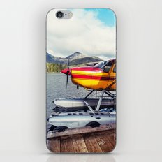Docked Seaplane iPhone & iPod Skin