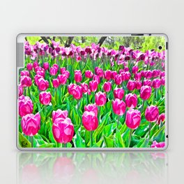 Spring Tulips Laptop & iPad Skin