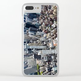 Built up Area Clear iPhone Case