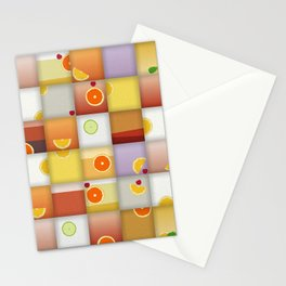 cocktail squares Stationery Cards
