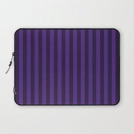 Indigo Purple Stripes Pattern Laptop Sleeve