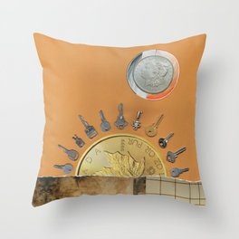 It's a New Day Throw Pillow