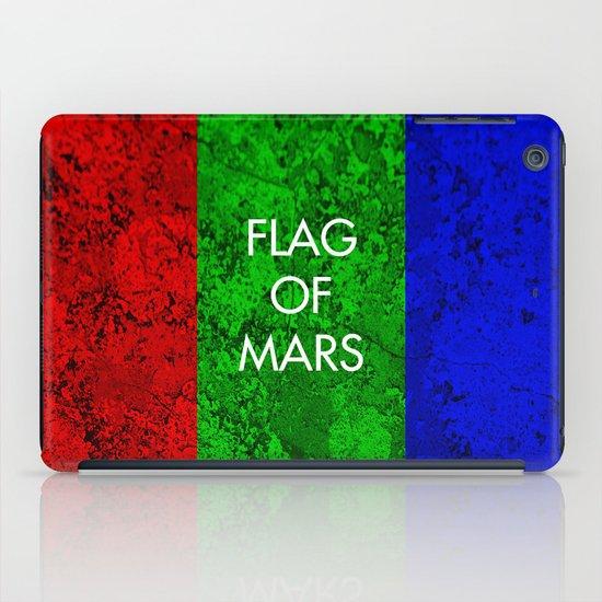 THE FLAG OF MARS iPad Case