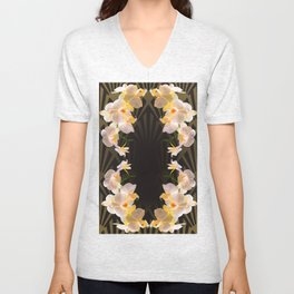 Orchid (tulips) from my terasse Unisex V-Neck