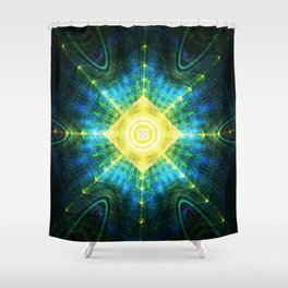 Eye of the Pyramid Shower Curtain