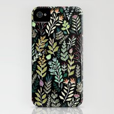 Dark Botanic iPhone (4, 4s) Slim Case