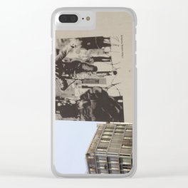 Berlin: Bernauer Straße Clear iPhone Case