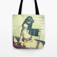 heels Tote Bags featuring Heels by David Reisinger