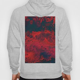 Red Abstract Texture (Color) Hoody