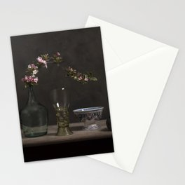 Blossom over history Stationery Cards