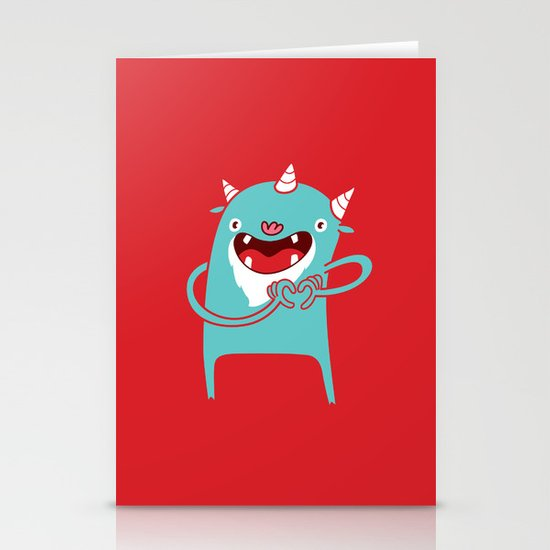 Monster Hearts You! Stationery Cards