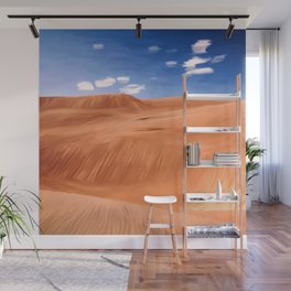 Once upon a desert, painting Wall Mural