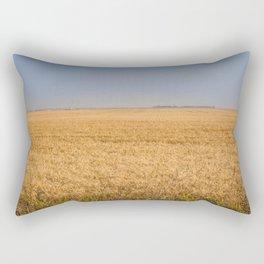 Harvest Near Garrison, ND 6 Rectangular Pillow