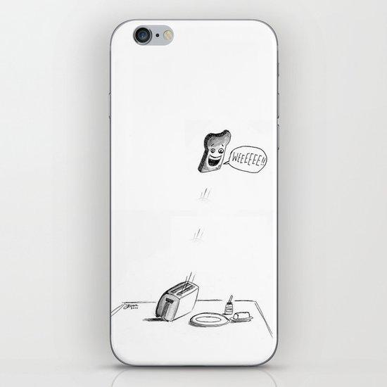 Happy Toast iPhone & iPod Skin