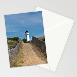 way to the lighthouse Stationery Cards