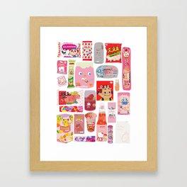 Japanese packaging Framed Art Print