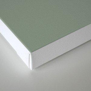 Green Pantone #839182 Canvas Print