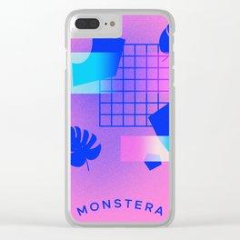 M O N S T E R A Clear iPhone Case