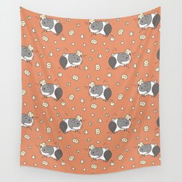 Guinea pig Pattern, Popcorning Wall Tapestry
